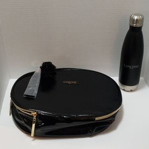 Lancome makeup case w/water bottle